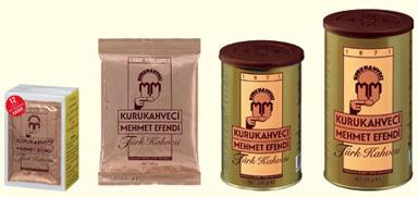 кофе Mehmet Efendi в различной упаковке